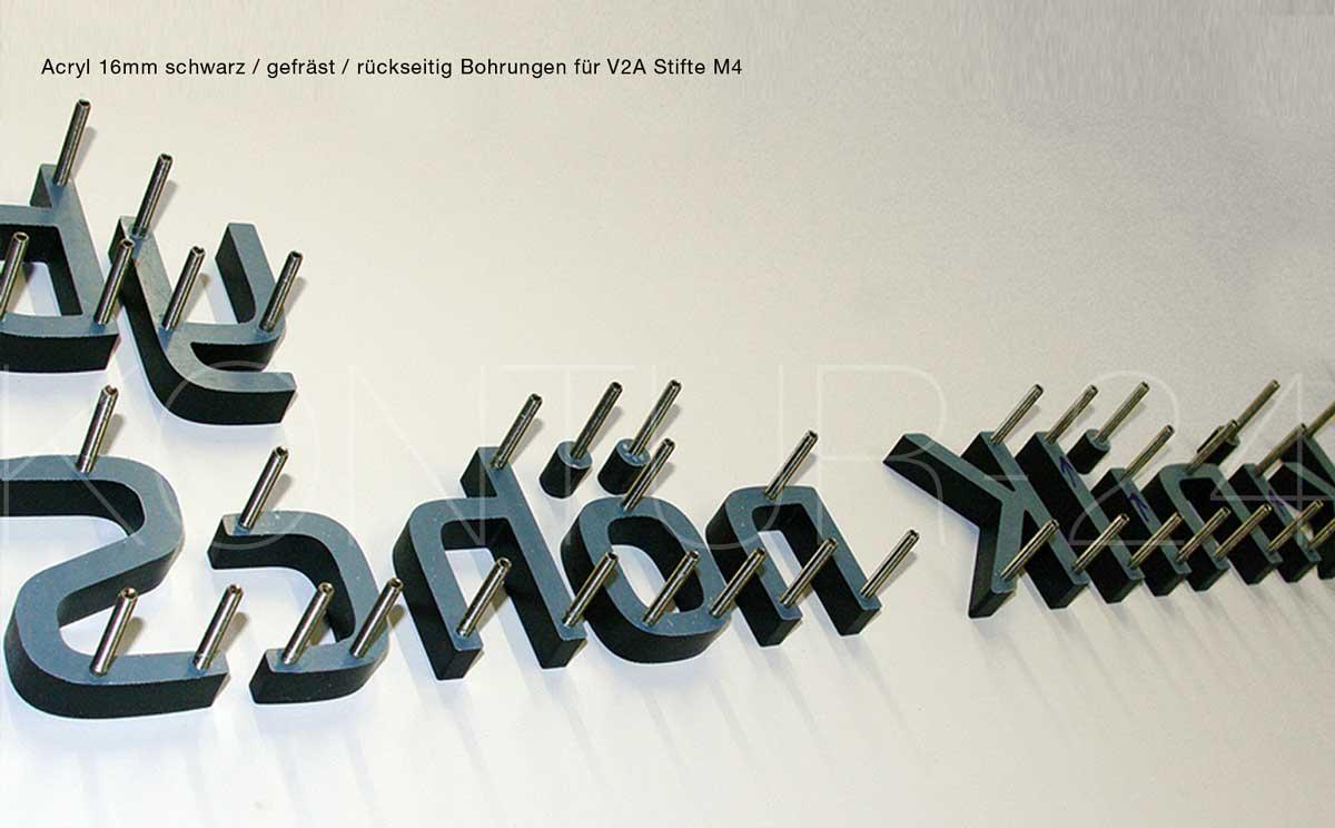 Gut bekannt 3D Acrylbuchstaben Logo Schriftzug Zahlen ab € 7,00 RN52