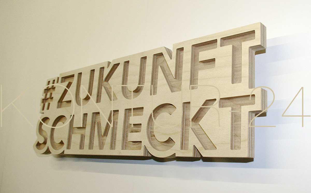 3d birke multiplex buchstabe in 19mm materialst rke. Black Bedroom Furniture Sets. Home Design Ideas