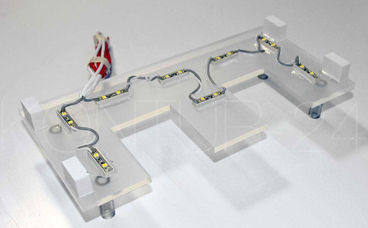 profilbuchstaben beleuchet profil 3 i ansicht montageplatte mit led best ckung. Black Bedroom Furniture Sets. Home Design Ideas
